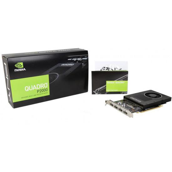 PNY Nvidia Quadro P2000 5GB DDR5 160Bit 1024 Cuda Profesyonel Grafik Kartı